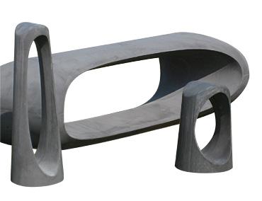 Byrumsinventar, beton, urban design, concrete, bench, bænk, bollard, pullert